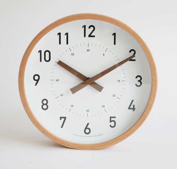 木製時計 キャンパスクロック