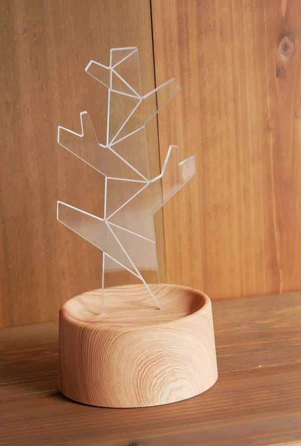 【雑貨】【アクセサリー】 アクセサリースタンド樹木