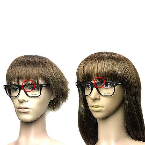 TOM FORD メガネフレーム マットブラック×ブラック 眼鏡 ■■不良品値下げ処分■■ b1-TF-5312-002