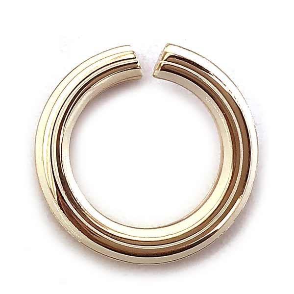 TORY BURCH リング・指輪【レディース】ロゴ アイボリー×ローズゴールド 51078-661