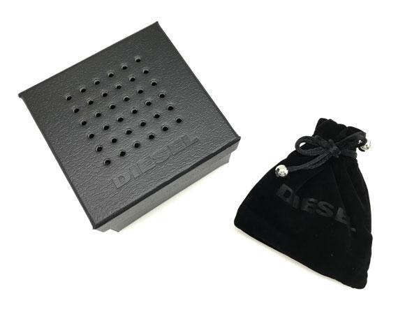 DIESEL ネックレス DX1156040 プレート シルバー