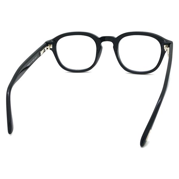 TOM FORD メガネフレーム ブラック 眼鏡 伊達メガネ用ブルーライトカットレンズ付 パソコン用PCメガネ ■■不良品値下げ処分■■ b1-TF-5698B-001