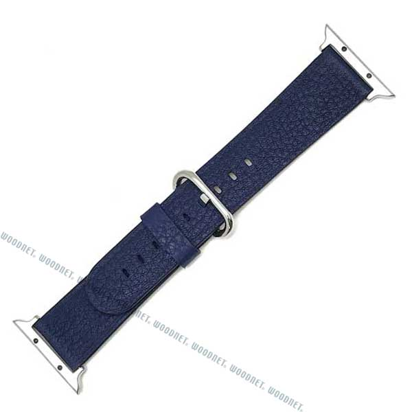 MORELLATO 時計ベルト カーフレザー アップルウォッチ38mm専用腕時計ベルト ダークブルー D4739-A-STRAP-CASSA-712-062-20