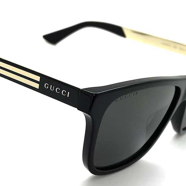 GUCCI 偏光サングラス ブラック ≪偏光レンズ≫ GUC-GG-0687S-002