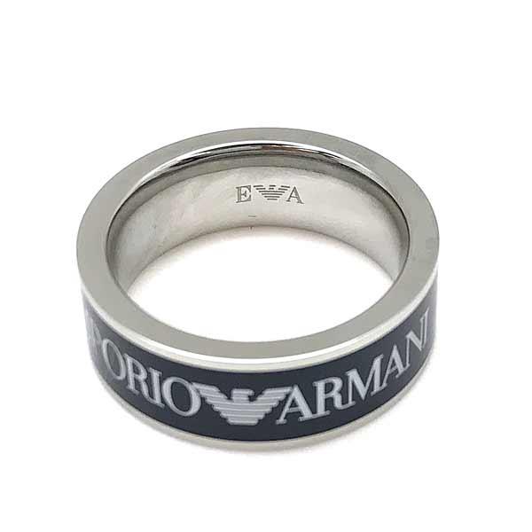 EMPORIO ARMANI リング・指輪 ネイビー×シルバー EGS2607040