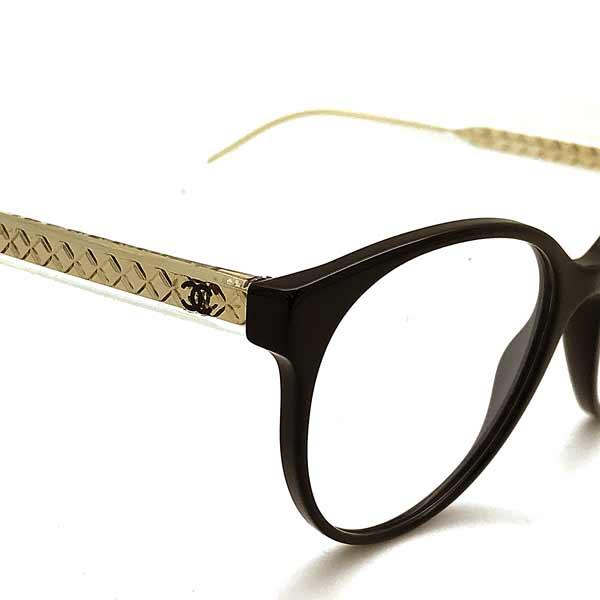 CHANEL メガネフレーム【レディース】ブラック 眼鏡 0CH-3401-C501