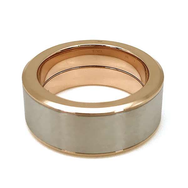 EMPORIO ARMANI リング・指輪 マットシルバー×ゴールド EGS2635040