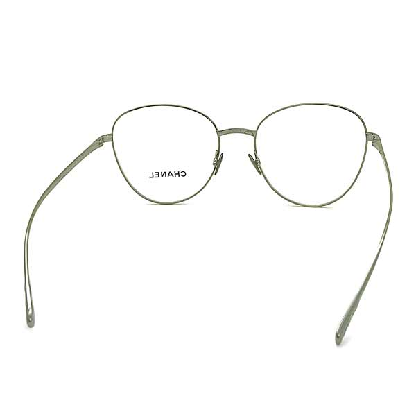CHANEL メガネフレーム【レディース】ガンメタルシルバー 眼鏡 0CH-2192-C108