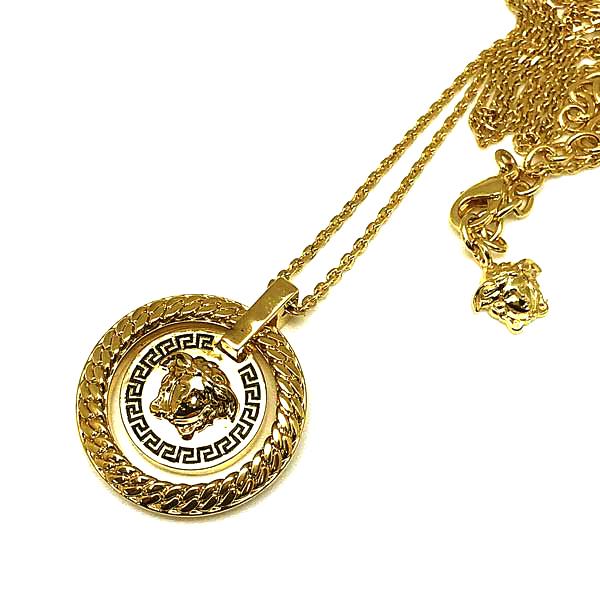VERSACE ネックレス ゴールド ロゴ DG18031-DJMS-D41OH