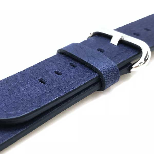 MORELLATO 時計ベルト カーフレザー アップルウォッチ42mm専用腕時計ベルト ダークブルー U4739-A-STRAP-CASSA-712-062-22