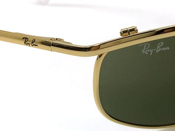RayBan サングラス 3119 OLYMPIAN グリーンブラック