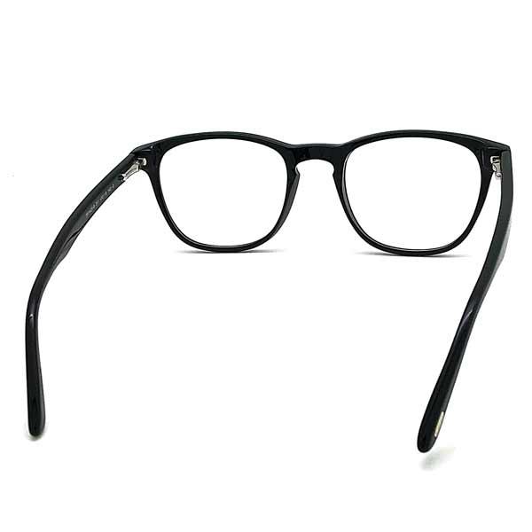TOM FORD メガネフレーム ブラック 眼鏡 伊達メガネ用ブルーライトカットレンズ付 パソコン用PCメガネ TF-5625B-001