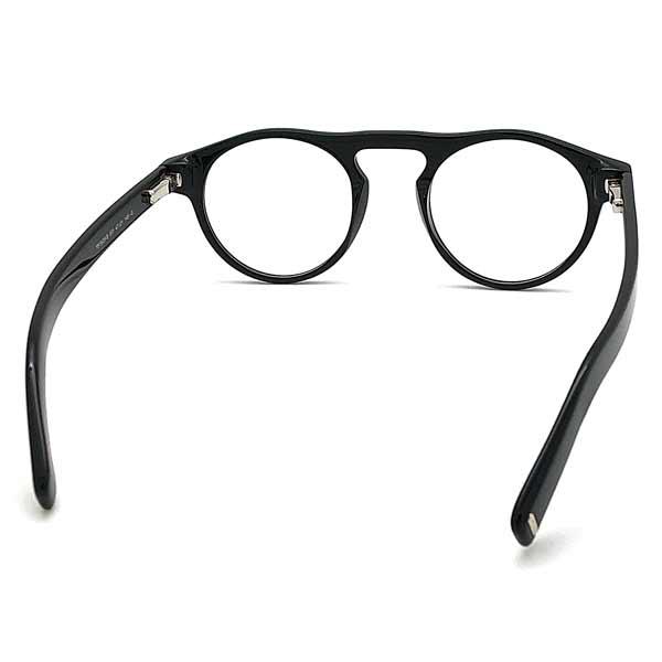 TOM FORD メガネフレーム ブラック 眼鏡 伊達メガネ用ブルーライトカットレンズ付 パソコン用PCメガネ TF-5628B-BB-001