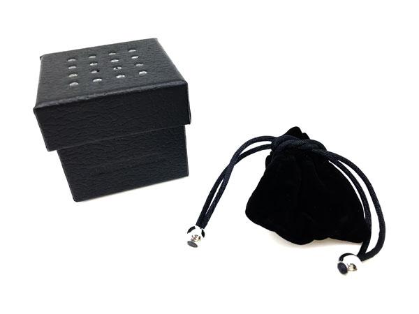 DIESEL リング・指輪 DX1158040 シルバー×ブラック ダブル
