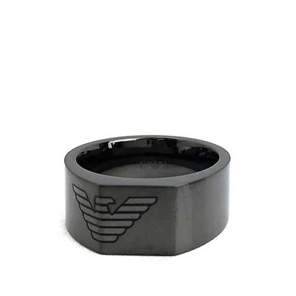 EMPORIO ARMANI リング・指輪 マットガンメタル EGS2642060