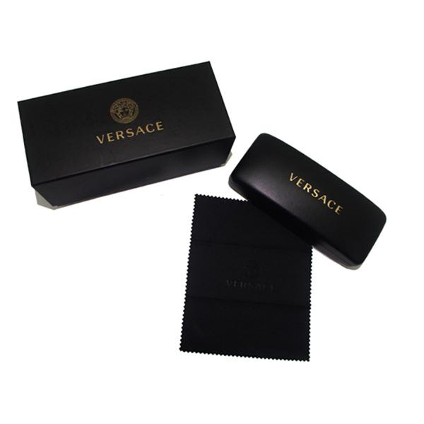 VERSACE メガネフレーム マットブラック 眼鏡 0VE-1272-1261