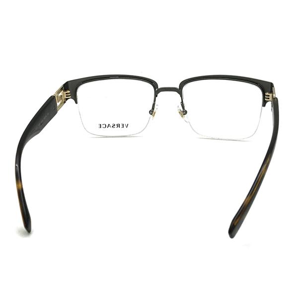 VERSACE メガネフレーム ガンメタルシルバー 眼鏡 0VE-1272-1316