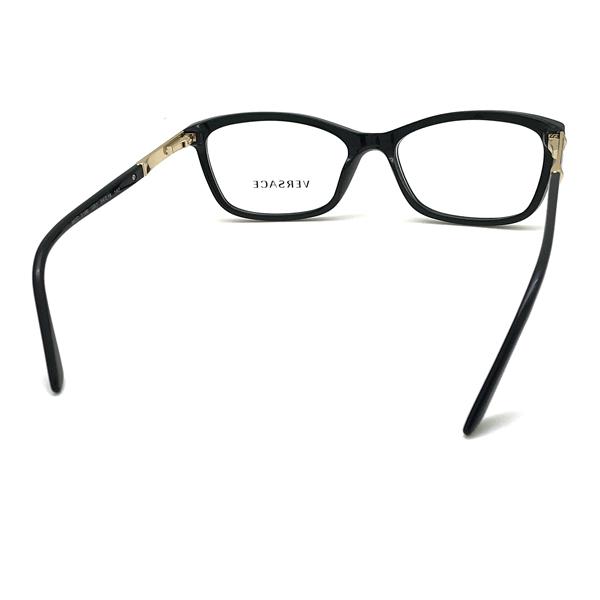 VERSACE メガネフレーム ブラック 眼鏡 0VE-3186-GB1