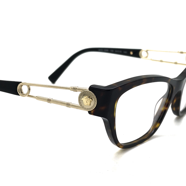 VERSACE メガネフレーム ダークマーブルブラウン 眼鏡 0VE-3288-108