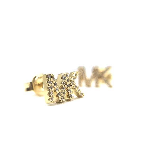 MICHAEL KORS ピアス【レディース】 ロゴ ゴールド MKC1256AN710
