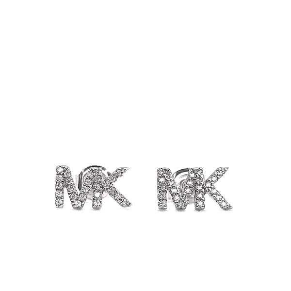 MICHAEL KORS ピアス【レディース】 ロゴ シルバー MKC1256AN040