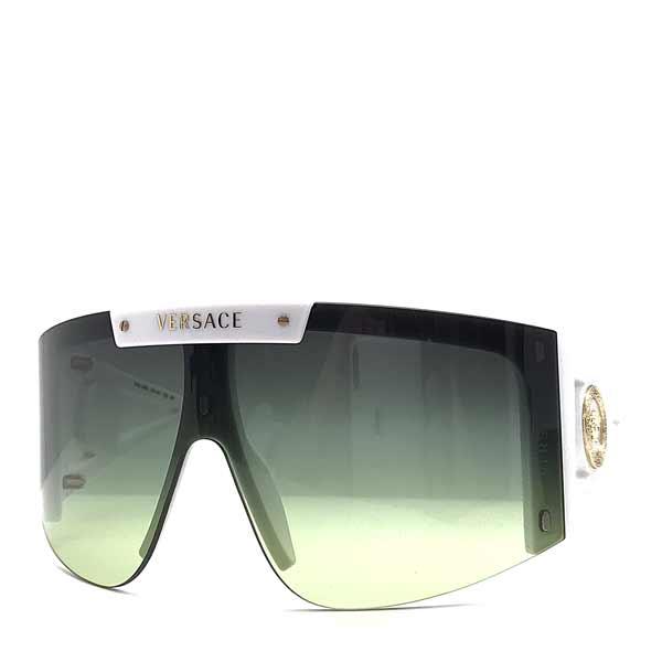 VERSACE サングラス ブラック×グラデーショングリーン マグネット式レンズ 0VE-4393-401-87