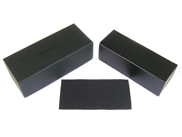DIOR HOMME メガネフレーム TIE137 ブラック