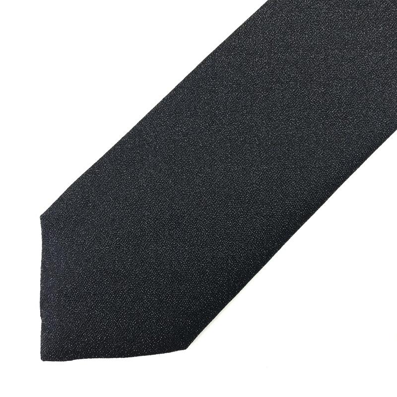 DIOR HOMME ネクタイ ブラック BEE シルク 8ES1010-630900