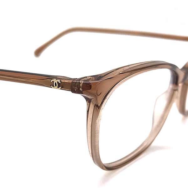 CHANEL メガネフレーム【レディース】 クリアーブラウン 眼鏡 0CH-3281-1651