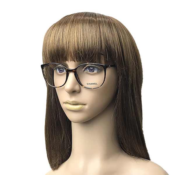 CHANEL メガネフレーム【レディース】 ダークマーブルブラウン 眼鏡 0CH-3282-C714