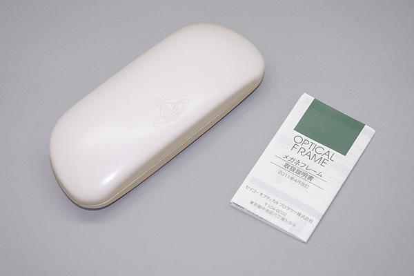 Vivienne Westwood メガネフレーム 7034 レッド×レッドストライプ