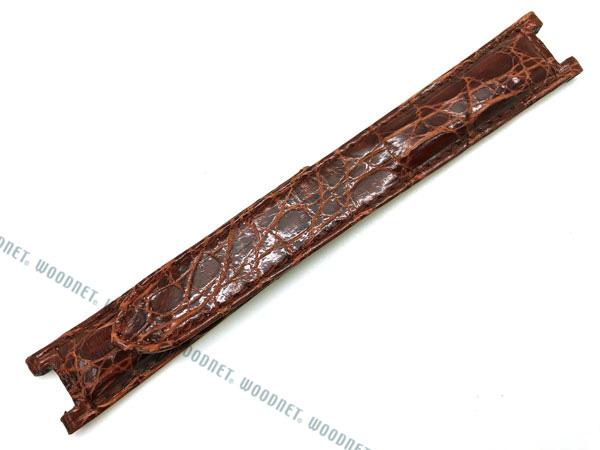 MORELLATO 腕時計ベルト バンド U2518 TIPONUOVOPASHA ティポ ヌーボ パシャ クロコダイルレザー  ゴールドブラウン