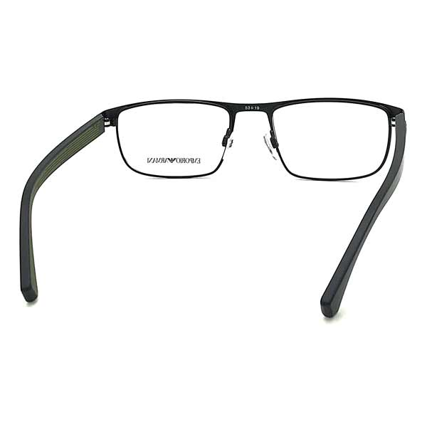 EMPORIO ARMANI メガネフレーム マットブラック 眼鏡 EA1086-3001
