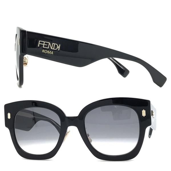 FENDI サングラス【レディース】フェンディ グラデーションブラック FF-0458GS-807-9O