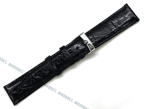 MORELLATO 腕時計ベルト バンド X2197 TRACY トレイシー クロコダイルレザー  ブラック