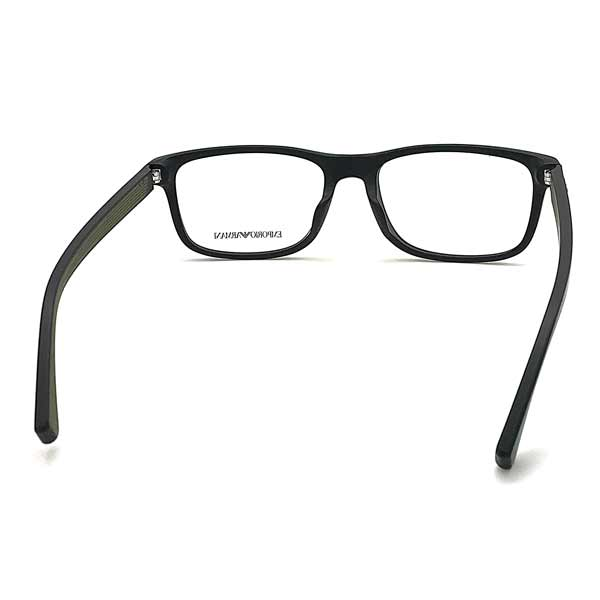 EMPORIO ARMANI メガネフレーム マットブラック 眼鏡 EA3147F-5042