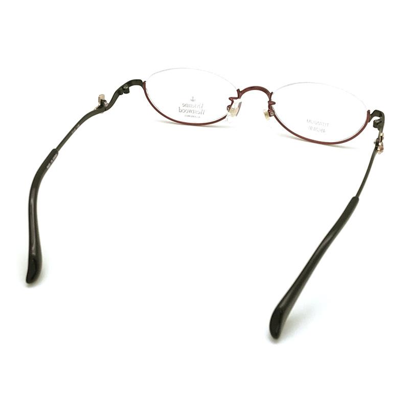 Vivienne Westwood メガネフレーム【レディース】5107 レッドブラック