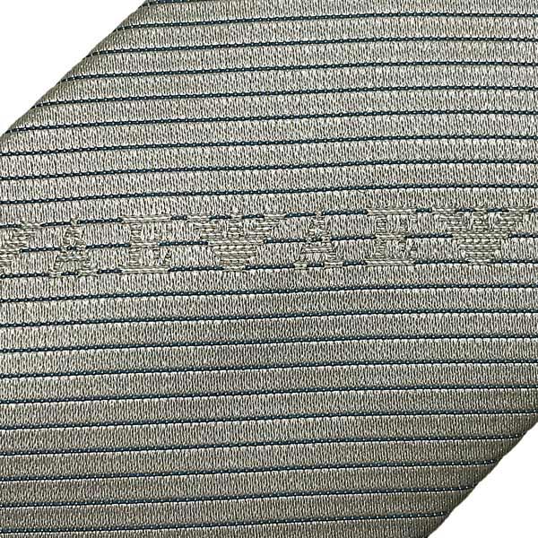 EMPORIO ARMANI ネクタイ ロゴ柄 シルク パールグレー 340049-618-00240