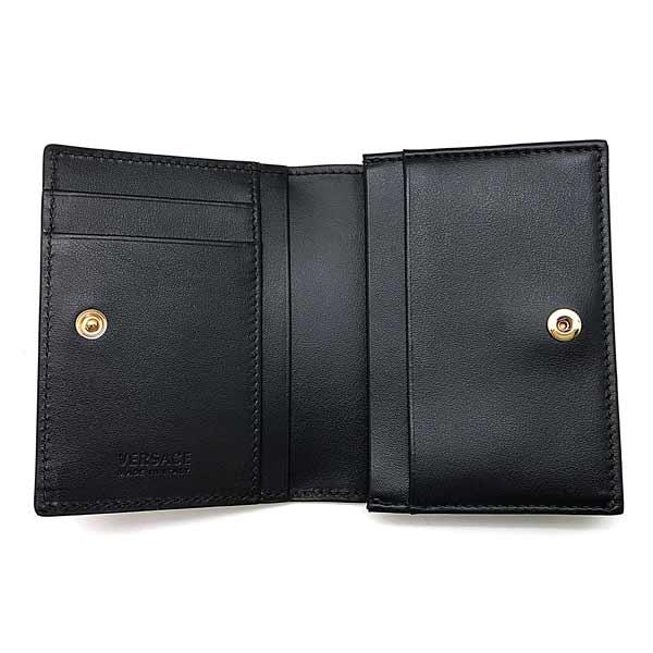 VERSACE カードケース メドゥーサ ロゴ 名刺入れ ブラック DPU7848-DVTE4-D41OH