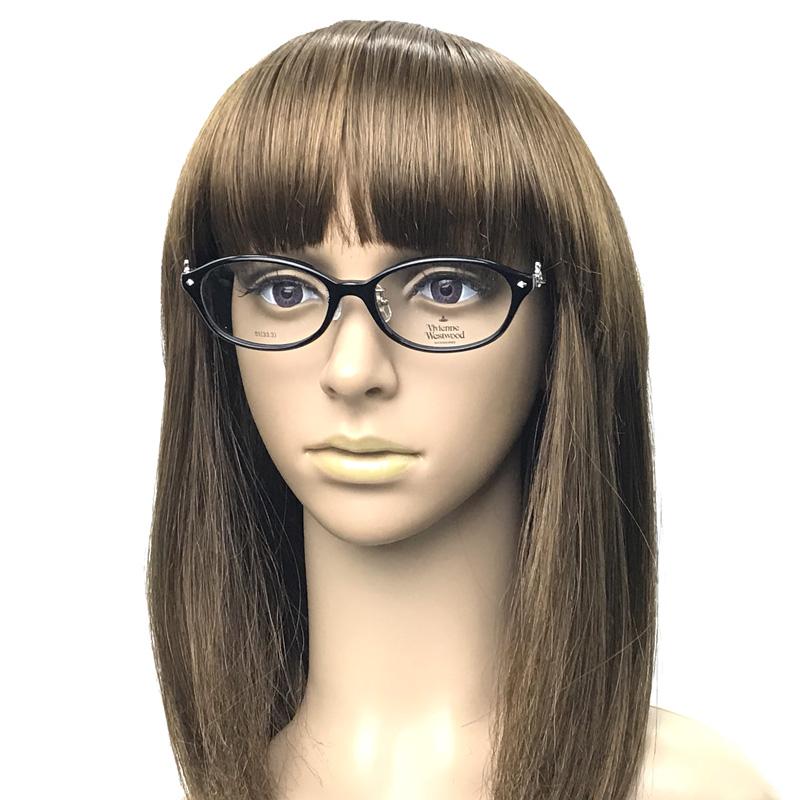 Vivienne Westwood メガネフレーム【レディース】7058 ブラック