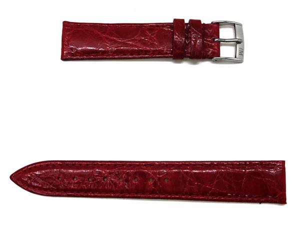 MORELLATO 腕時計ベルト バンド X2197 TRACY トレイシー クロコダイルレザー  レッド