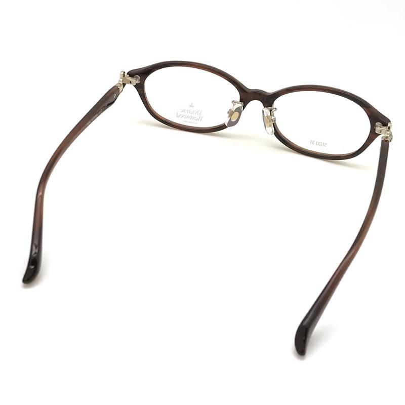 Vivienne Westwood メガネフレーム【レディース】7058 ダークブラウン