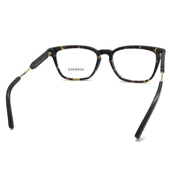 VERSACE メガネフレーム マーブルブラウン 眼鏡 0VE-3290-108
