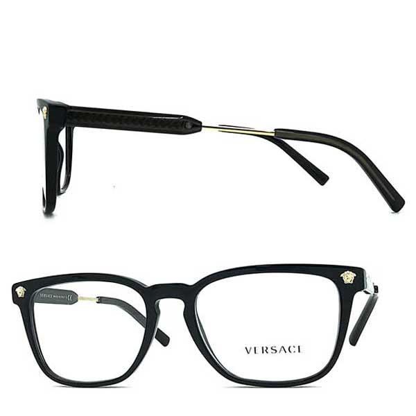 VERSACE メガネフレーム ブラック 眼鏡 0VE-3290-GB1