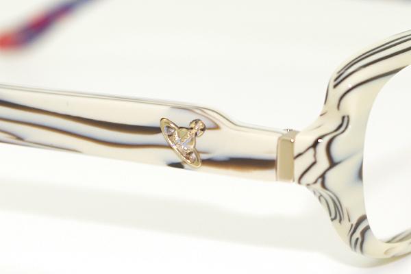 Vivienne Westwood メガネフレーム 7046 ホワイトチョコ