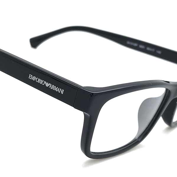 EMPORIO ARMANI メガネフレーム ブラック EA3143F-5001