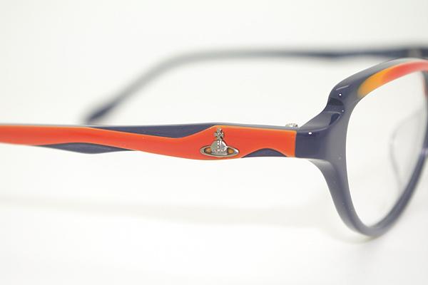 Vivienne Westwood メガネフレーム 7048 ネイビー×グラデーションオレンジ