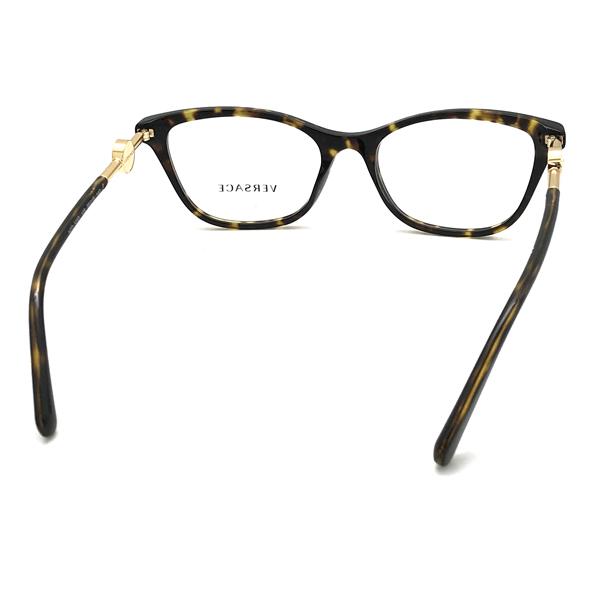 VERSACE メガネフレーム マーブルブラウン 眼鏡 0VE-3293-108