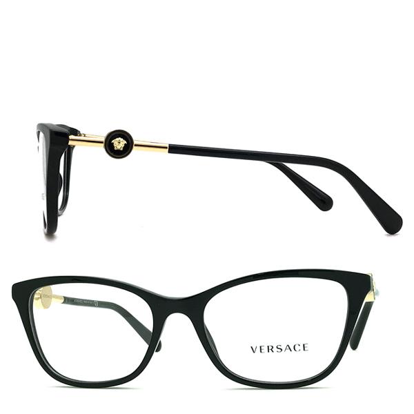VERSACE メガネフレーム ブラック 眼鏡 0VE-3293-GB1