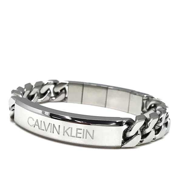 CALVIN KLEIN ブレスレットシルバー KJBHMB000100